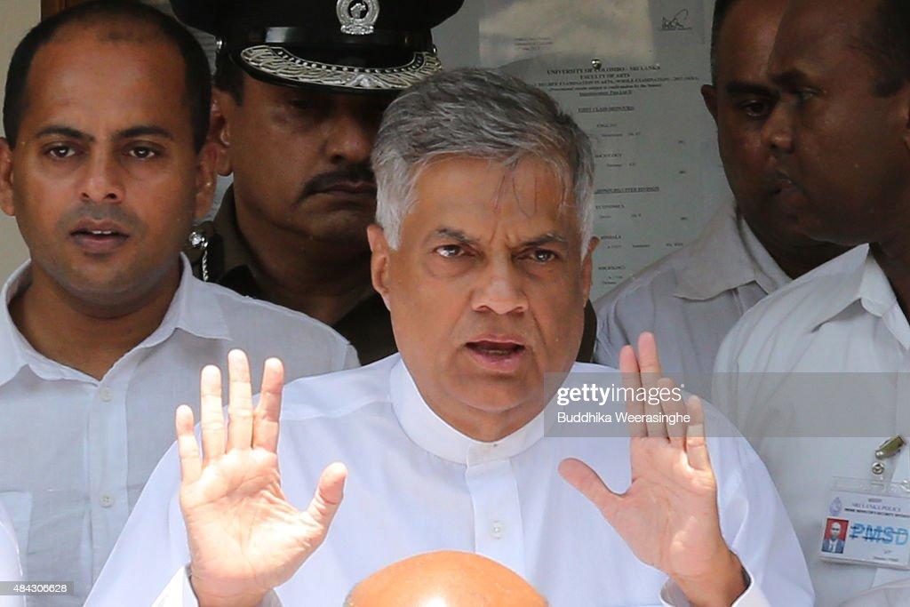 Sri Lankan General Election 2015
