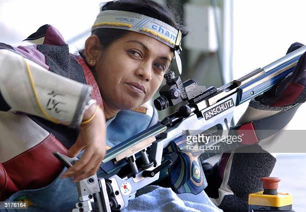 Sri Lankan shooter Malini Wickrama Singhe gets in some final