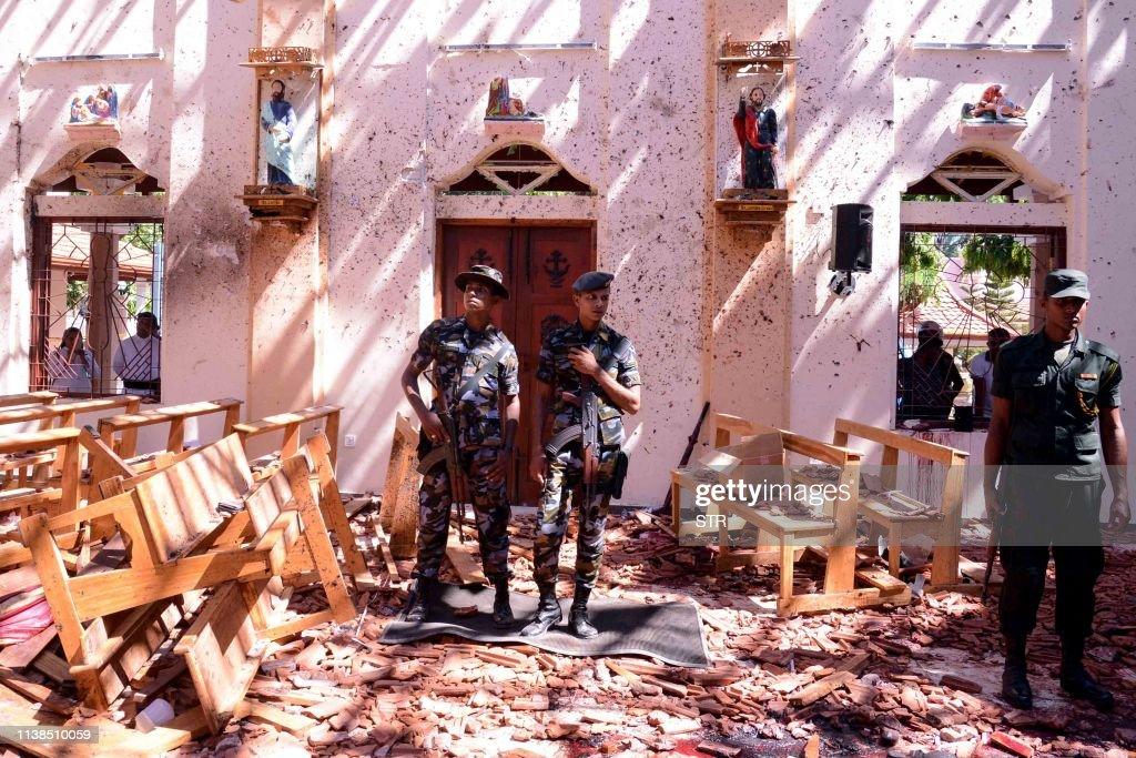 TOPSHOT-SRI LANKA-ATTACKS : News Photo