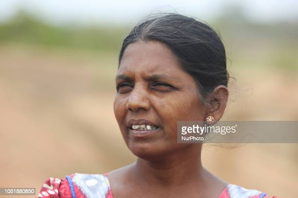 Sri Lankan woman whose husband was a member of the Tamil Tigers and was killed during the civil war in Mannar Sri Lanka This is just one of the many...