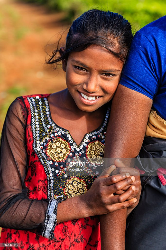 Sri Lankan Young Girls Near Nuwara Eliya Ceylon High-Res
