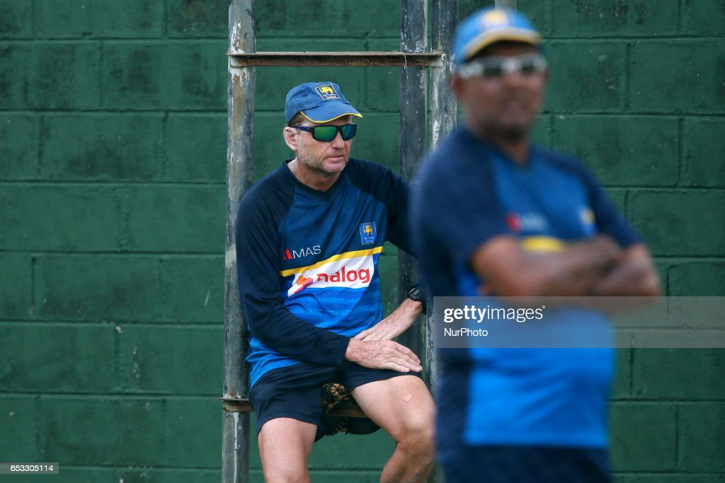 Sri Lanka v Bangladesh - Cricket practice session