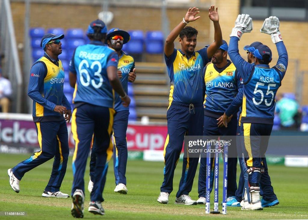 GBR: Sri Lanka v South Africa – ICC Cricket World Cup 2019 Warm Up