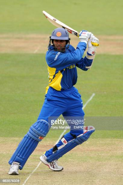 Sri Lanka's Tilakaratne Dilshan bats against Pakistan