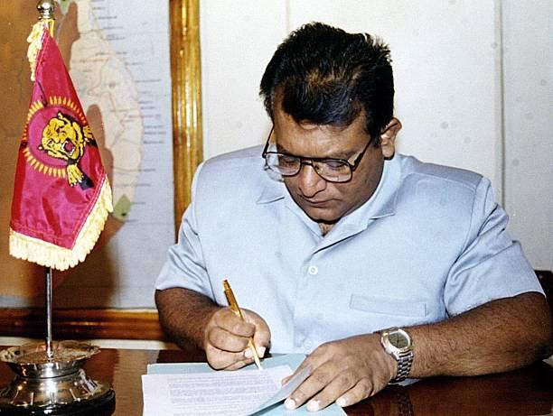 Sri Lankas Top Tamil Tiger Leader Velupillai Prab Pictures Getty