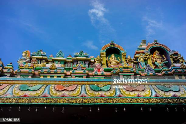 sri maha mariamman temple dhevasthanam - shaifulzamri foto e immagini stock