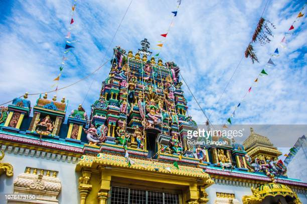 sri mahariamman temple - george town penang stock photos and pictures