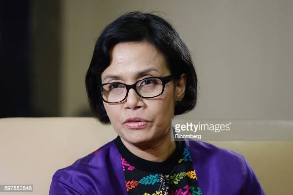 Sri Mulyani Indrawati, Indonesia's minister of finance ...
