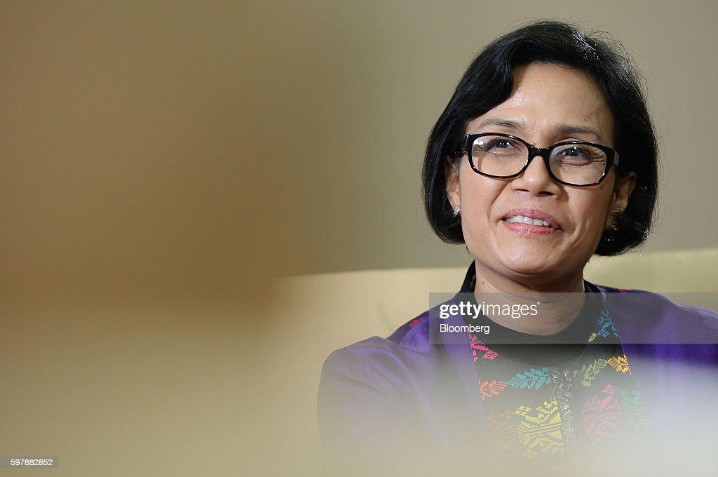Indonesian Finance Minister Mulyani Indrawati Interview
