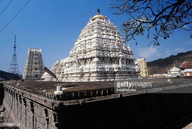 Sri Varaha Narasimhaswamy Temple, built in the 11th century, in Simhachalam near Visakhapatnam, Andhra Pradesh, India.