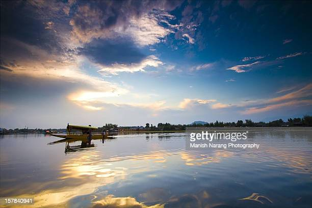 srinagar - kashmir valley stock photos and pictures