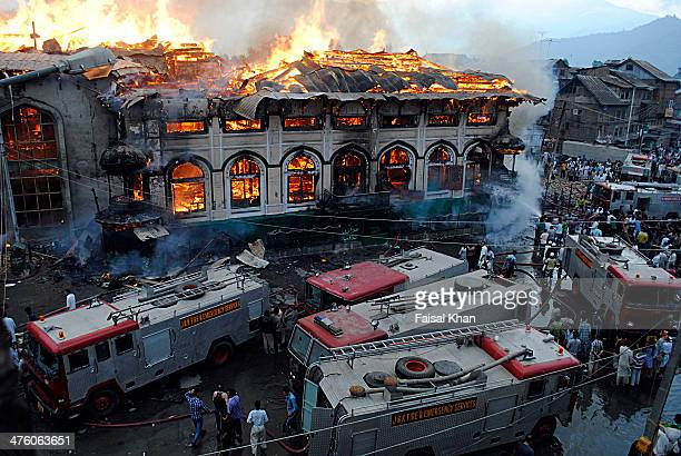 CONTENT] Srinagar's 200yearold historical shrine was gutted in a fireThe Shrine built in reverence for the 11th century saint Sheikh Abdul Qadir...