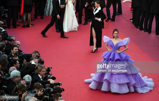 Sririta Jensen attends the screening of Rocketman during the 72nd annual Cannes Film Festival on May 16 2019 in Cannes France