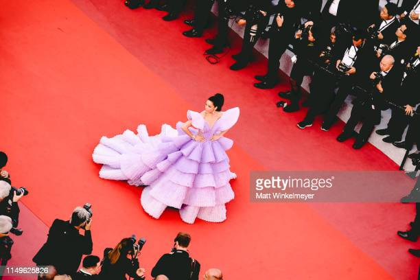 Sririta Jensen attends the screening of Rocketmanduring the 72nd annual Cannes Film Festival on May 16 2019 in Cannes France