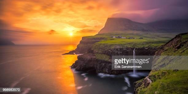 Sørvágur,Faroe Islands