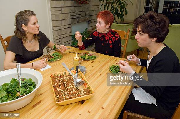 SSRaw Food DietFebruary 16 2007Reporter Elvira Cordileone eats dinner with chef Evelyne Gharibian and holistic nutritionist Caroline Dupont as part...