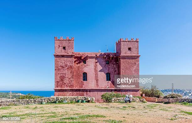 St. Agatha's Tower ( Red Tower ), Malta