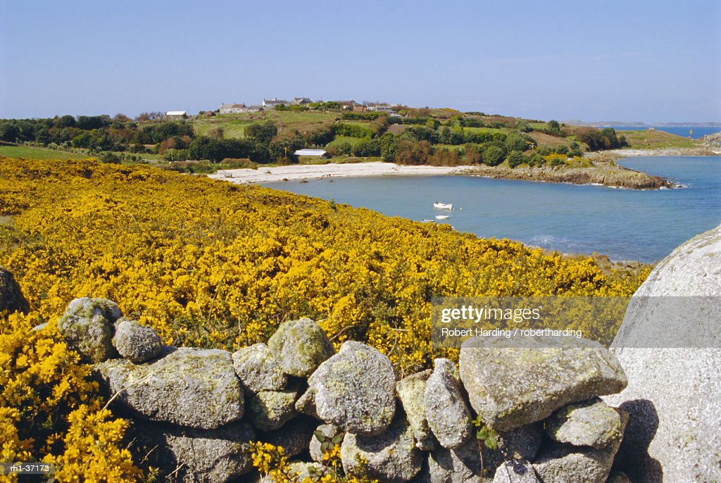 St Agnus, Isles of Scilly, England, UK : Foto de stock