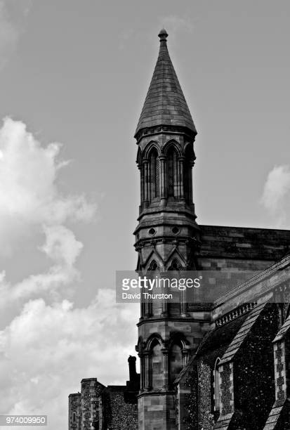 st. albans abbey - st. albans stock pictures, royalty-free photos & images