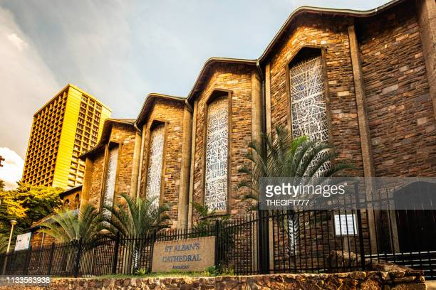 st albans cathedral church in pretoria / tshwane - st. albans stock pictures, royalty-free photos & images
