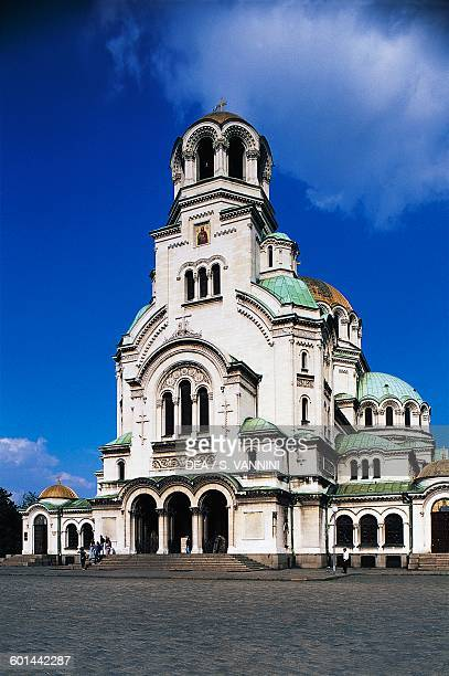St Aleksandar Nevski cathedral 18821912 neoByzantine Orthodox church Sofia Bulgaria 19th20th century