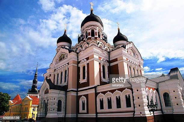 St. Alexander Nevsky Cathedral in Tallinn Estonia