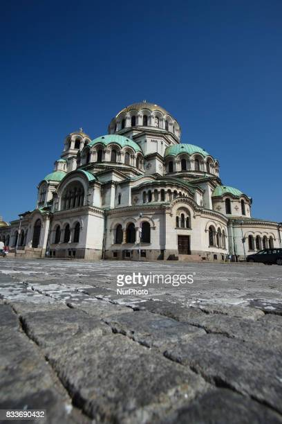 St Alexander Nevsky Cathedral one of the largest Eastern Orthodox cathedrals in the world in the historic Bulgarian capital Sofia Sofia was and is a...