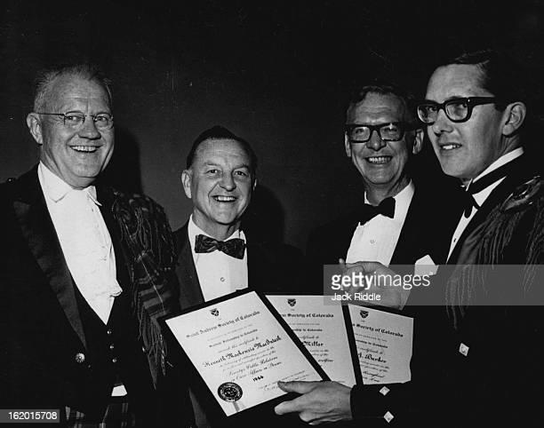 JUN 28 1966 JUN 30 1966 St Andrew Society Celebrates The St Andrew Society of Colorado celebrated its third annual Burns Nicht supper Saturday night...