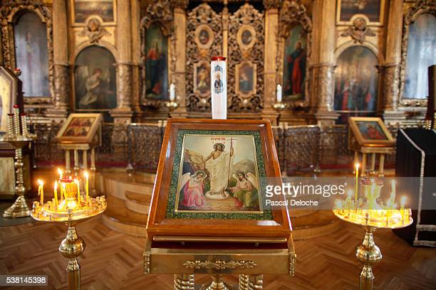 St. Andrew's Cathedral. The iconostasis.