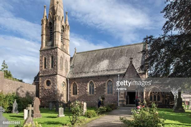 St Andrew's Church at Fort William Scottish Highlands Scotland UK
