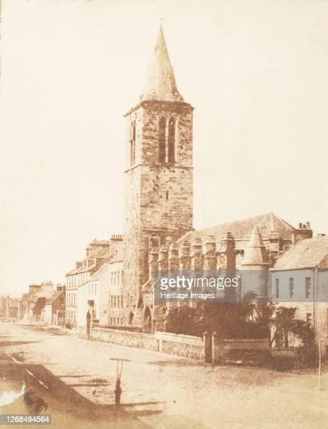 St Andrews College Church of St Salvator 184347 Artist David Octavius Hill Robert Adamson Hill Adamson