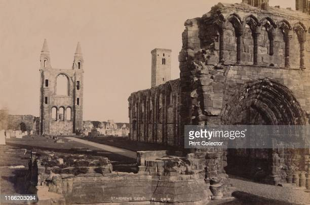 St Andrew's Gate' 1929 East tower of the medieval cathedral at St Andrews dating circa 1160 ransacked by Protestants incited by the preaching of John...