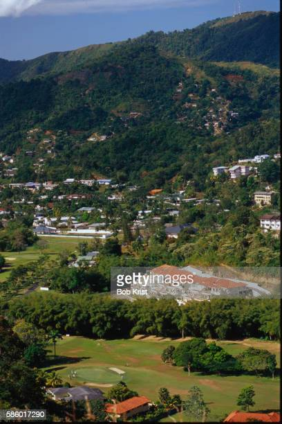 st. andrew's golf course - port of spain stock pictures, royalty-free photos & images
