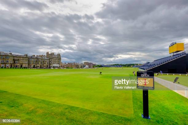 st andrews golf course - scotland - st. andrews scotland stock pictures, royalty-free photos & images