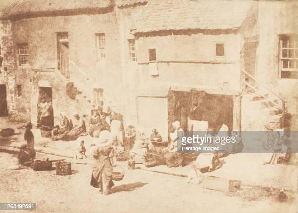 St. Andrews. North Street, Fishergate, 1843-47. Artist David Octavius Hill, Robert Adamson, Hill & Adamson.