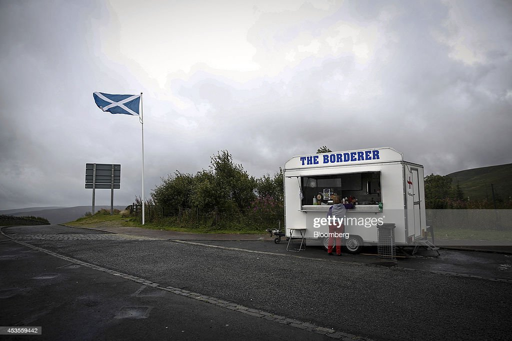 Scotland Ahead Of The Independence Referendum : Nachrichtenfoto