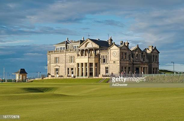 st. andrews r&a golf club - st. andrews scotland stock pictures, royalty-free photos & images