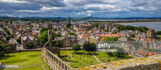 st andrews, scotland - old glasgow stock pictures, royalty-free photos & images