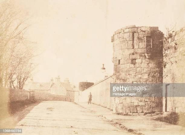 St. Andrews. The Abbey Wall, 1843-47. Artist David Octavius Hill, Robert Adamson, Hill & Adamson.