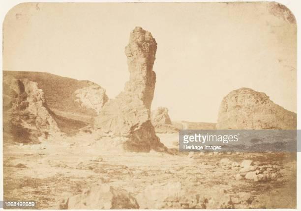 St Andrews The Spindle Rock 184347 Artist David Octavius Hill Robert Adamson Hill Adamson