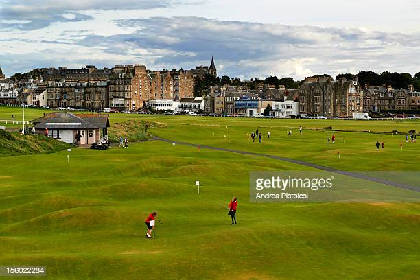 St Andrews village, golf birthplace