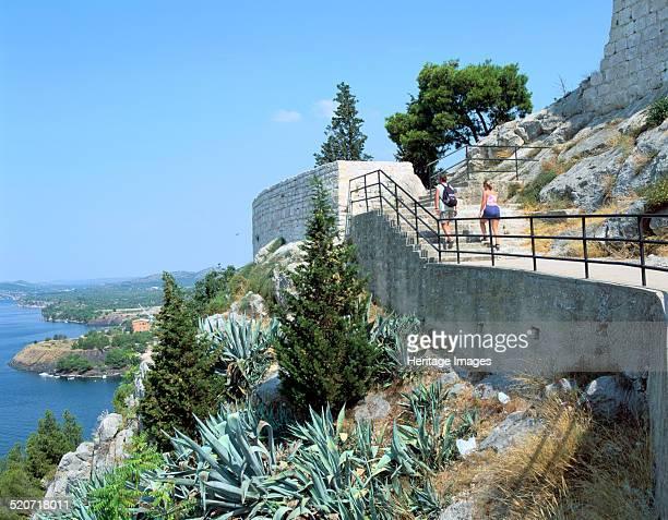 St Anne's Venetian Fortress Sibenik Croatia In common with the rest of Dalmatia the town of Sibenik fell under Venetian control in 1412