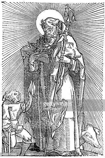 St Anthony the Great Egyptian aesthetic Also known as Antony of Thebes St Anthony was the father of Christian monasticism and is the patron saint of...