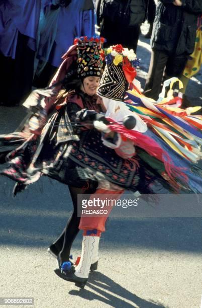 St Apollonia Carnival Comelico Dosoledo Italy