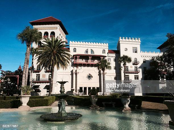 St Augustine City Hall and Lightner Museum was formerly the Alcazar Hotel It was built by Henry Flagler in 1887 to entice wealthy tourists to come to...
