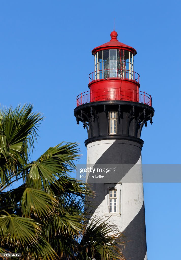 St. Augustine, Florida Lighthouse : Stock Photo