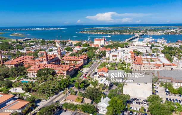 st. augustine florida - gulf coast states stock pictures, royalty-free photos & images