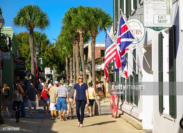 st augustine, florida - st. augustine florida stock photos and pictures
