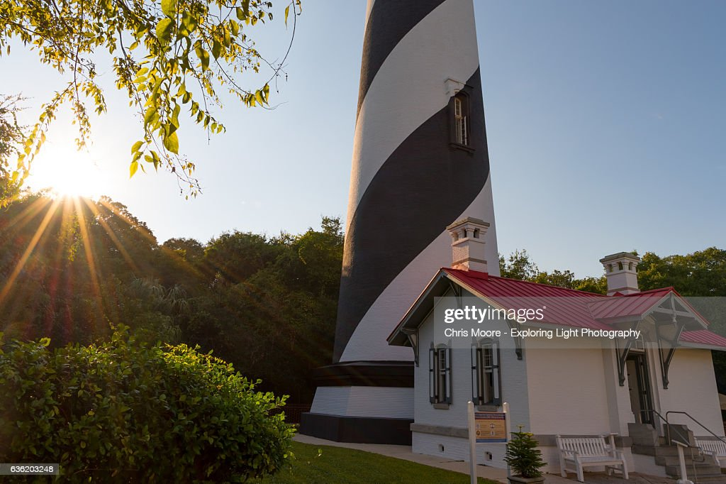 St. Augustine Lighthouse : Stock Photo