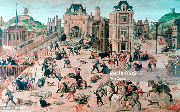 'St Bartholomew's Day Massacre', c1810-1870. Found in the collection of the Musée Cantonal Des Beaux-Arts, Lausanne, Switzerland.